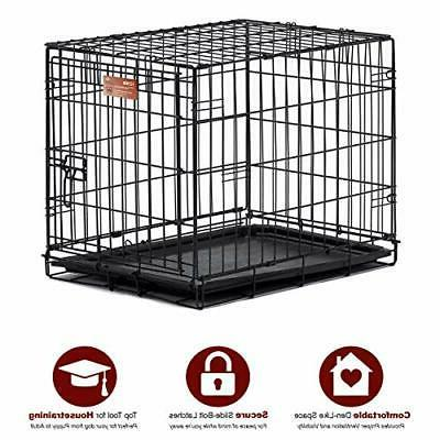 Homes Dog Crate iCrate w/ Divider Single MidWest