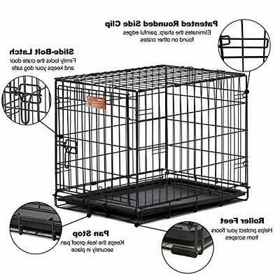 Homes Crate Single w/ Divider Single MidWest