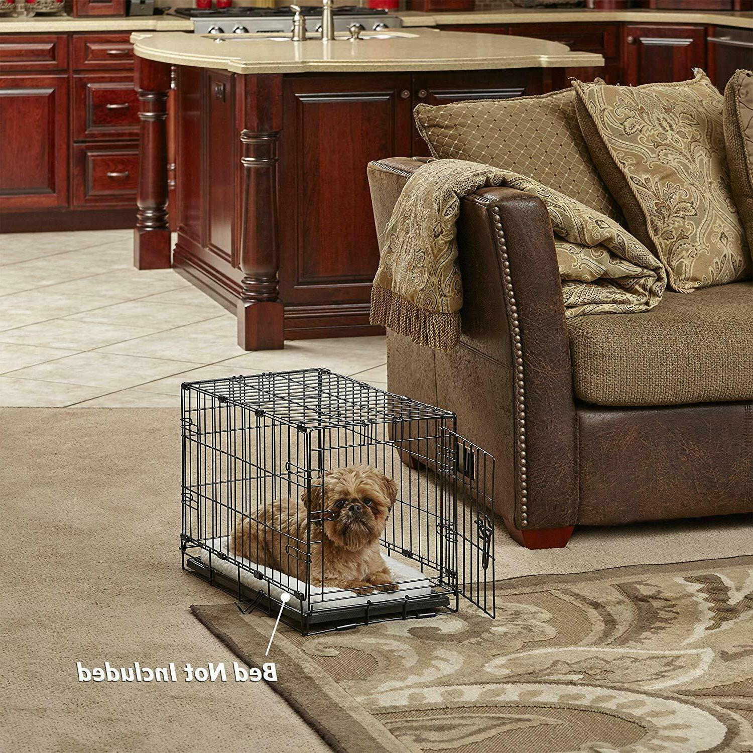MidWest Homes for Dog Single Door Folding Metal.