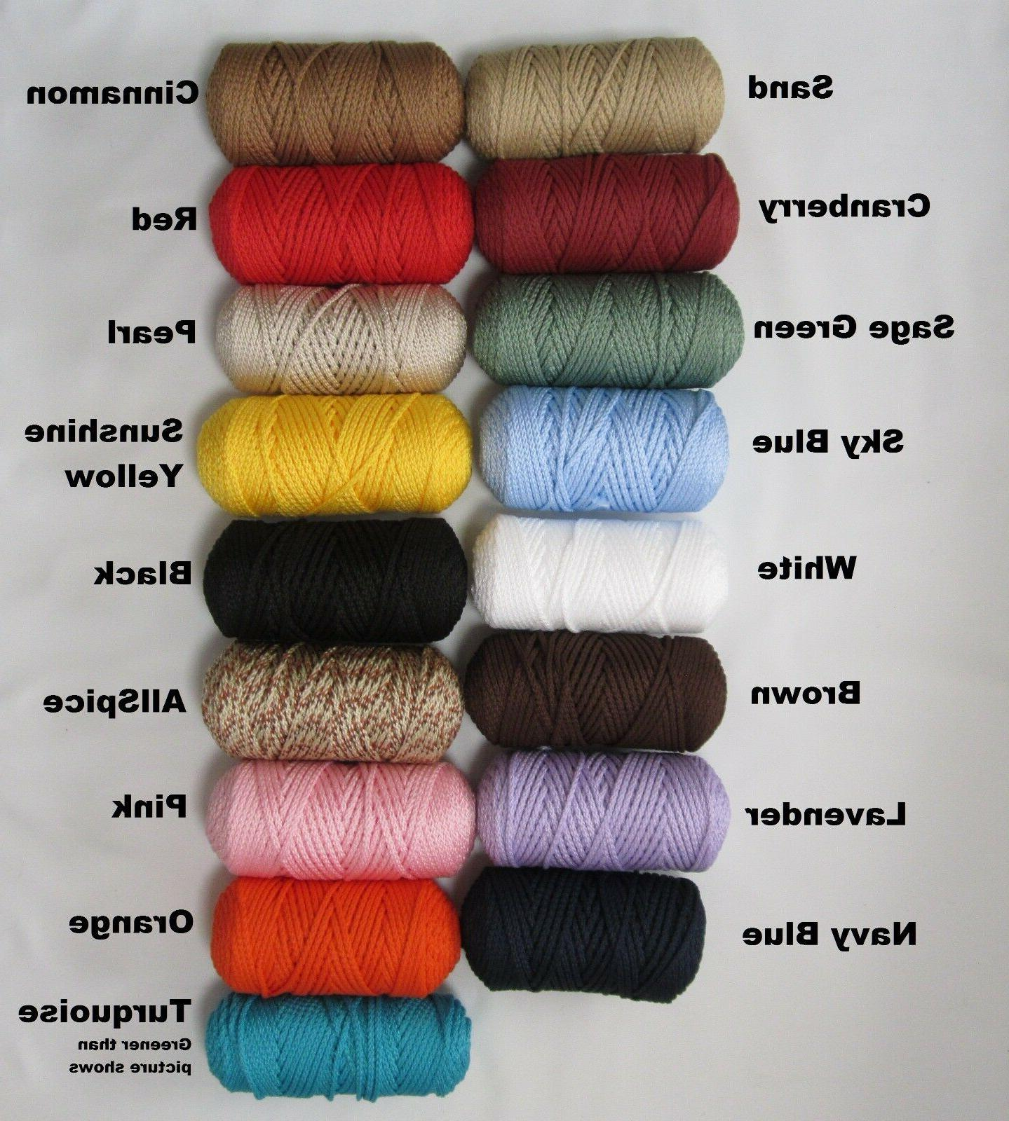 MACRAME inch Style Choose Color**