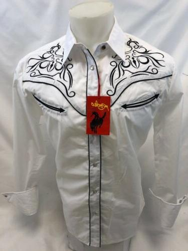 Mens RODEO WESTERN SNAP 501