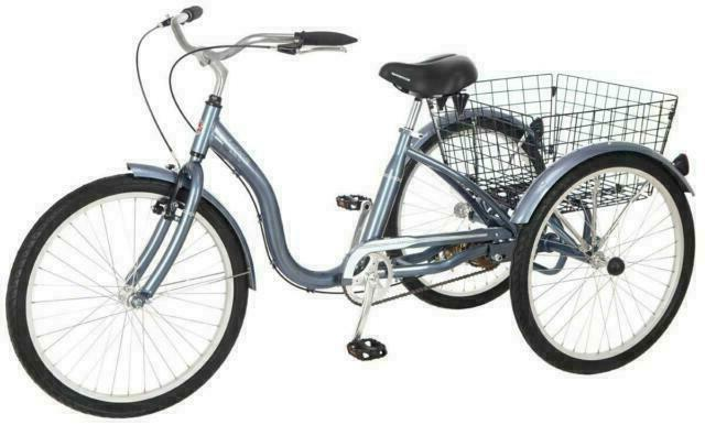 meridian adult tricycle with 24 inch wheels