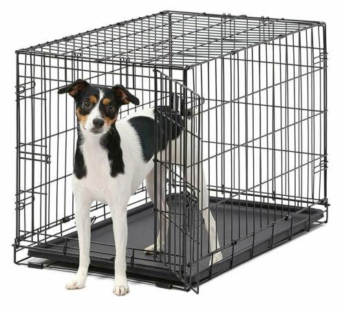 MidWest Homes Dog Single Folding Metal