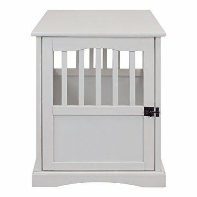 """Casual Home Wooden Pet Crate 24.5"""" White"""