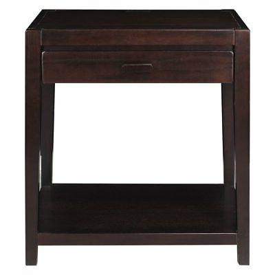 notre dame 1 drawer nightstand with usb