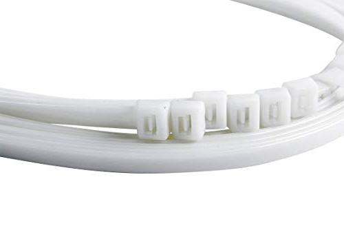 Gardner Bender Cable Tie, 24 inch, 180 lb, Electrical Wire and Nylon Zip Tie, Natural White