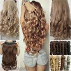 One Piece 100% NEW Clip In Hair Extensions Long Straight Wav
