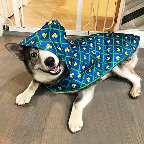 RC Dog Poncho, Ducky, X-Large