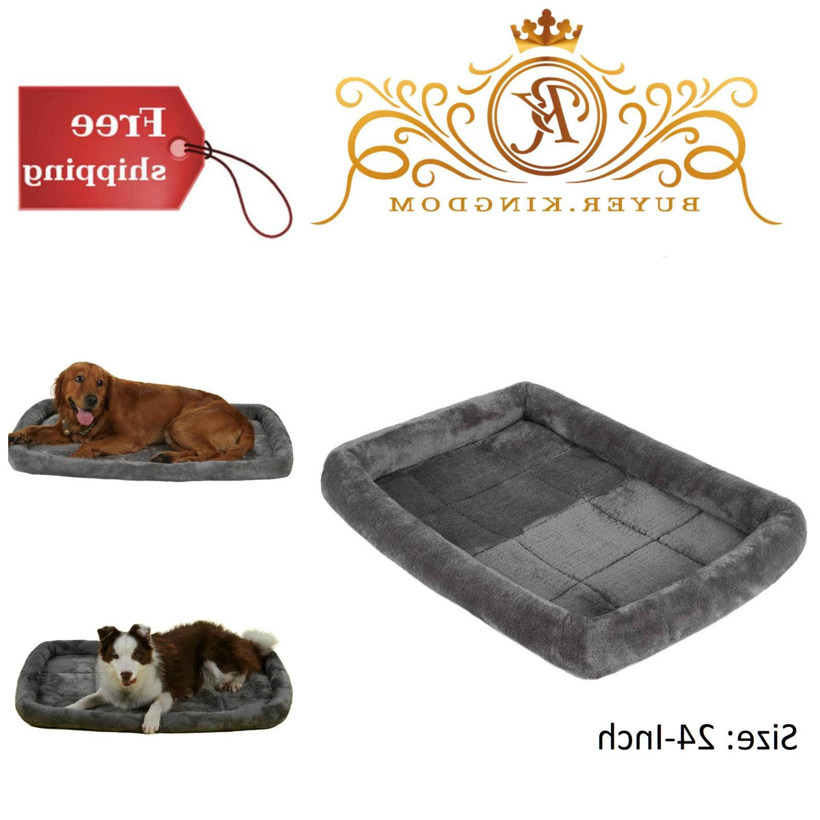 Padded Pet Bolster Bed Comfortable Dog Cat Breathable Cushio