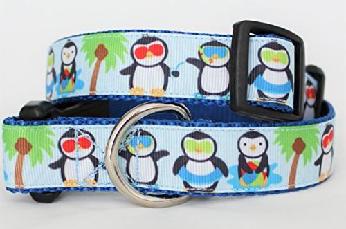 penguins paradise dog collar