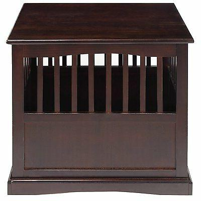 Casual Pet Crate End 24-Inch Wooden Dog