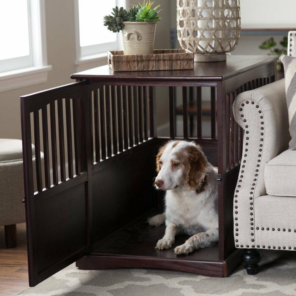 Pet Furniture Crate Table )