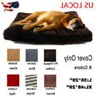 Pet Dog Bed Cover Only Replacement Pup Soft Cushion Washable