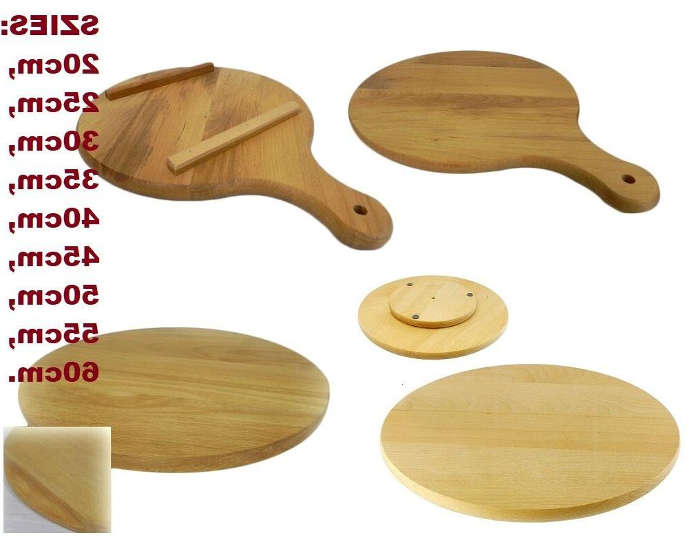 pizza round circular wooden board types