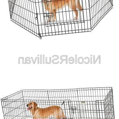 playpen for dogs eight high panels 24