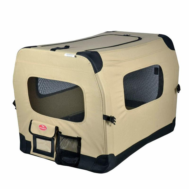Dog Tan Home Outdoor Soft Side Lightweight
