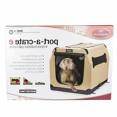 """Port A Up Large 36"""" Bed Portable Travel Pet House Home"""