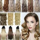 Real Long Clip In Hair Extensions One Piece Full Head Straig