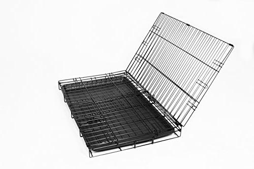 Carlson Pet Products SECURE AND Single Door Metal Dog