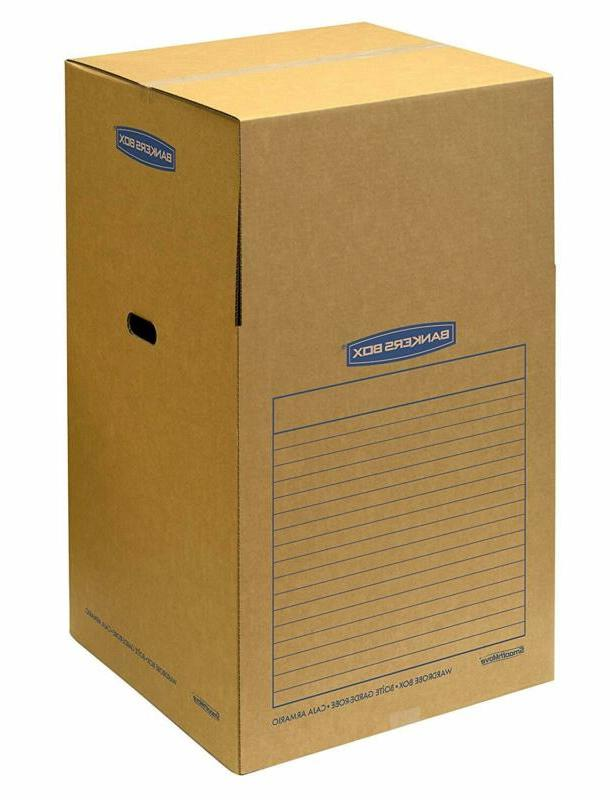 Bankers Box SmoothMove Wardrobe x 40 Inches, 3 Pack