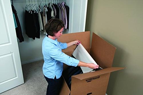 Bankers SmoothMove Moving Boxes, x 24 Inches, Pack
