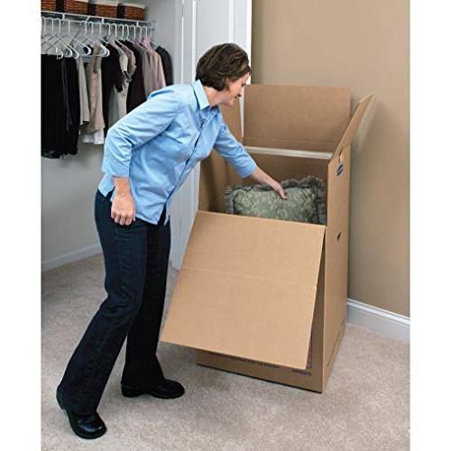 Bankers Moving Boxes, 24 x x 40 Inches, 3 Pack