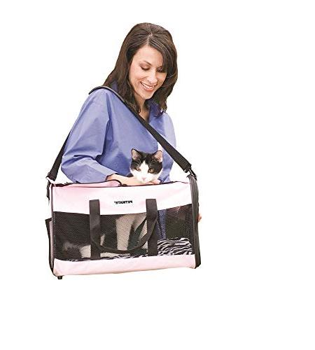 Petmate Soft-Sided Kennel Small Easy-Open Doors 3 Stylish Colors Sizes