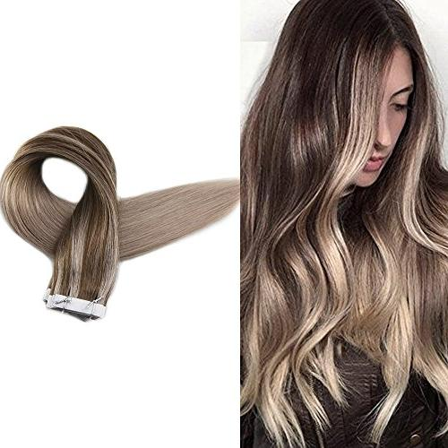 tape real human hair extensions