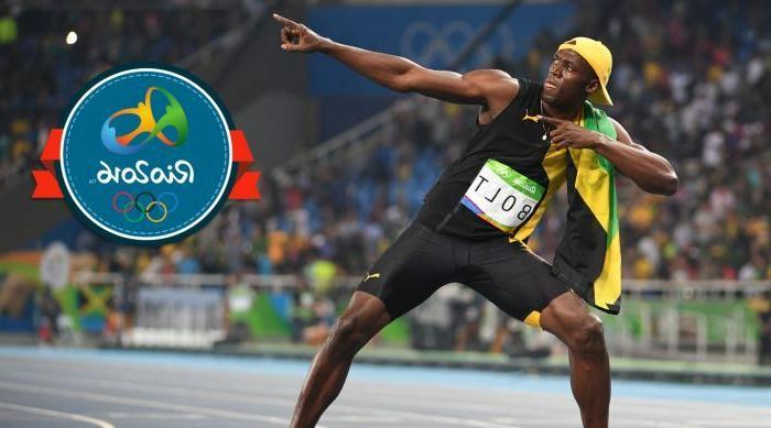 usain bolt track and field olympics 100m