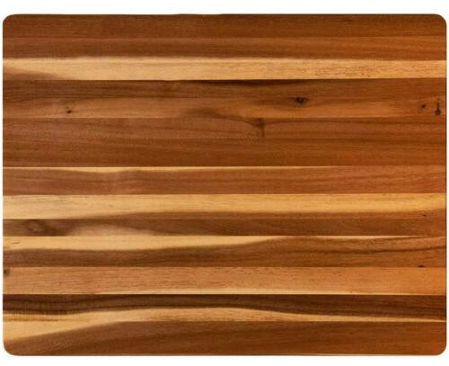 villa acacia extra large wood cutting board