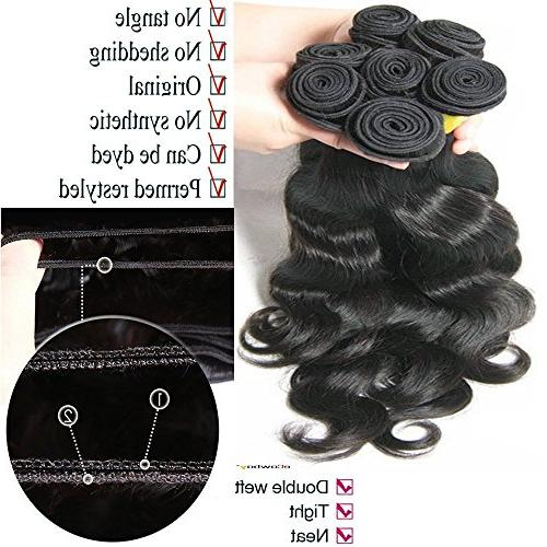 BODY WAVE 3 Bundle GREAT DEAL Wavy Hair Weave Extensions 100% Hair GUARANTEED Two -22""