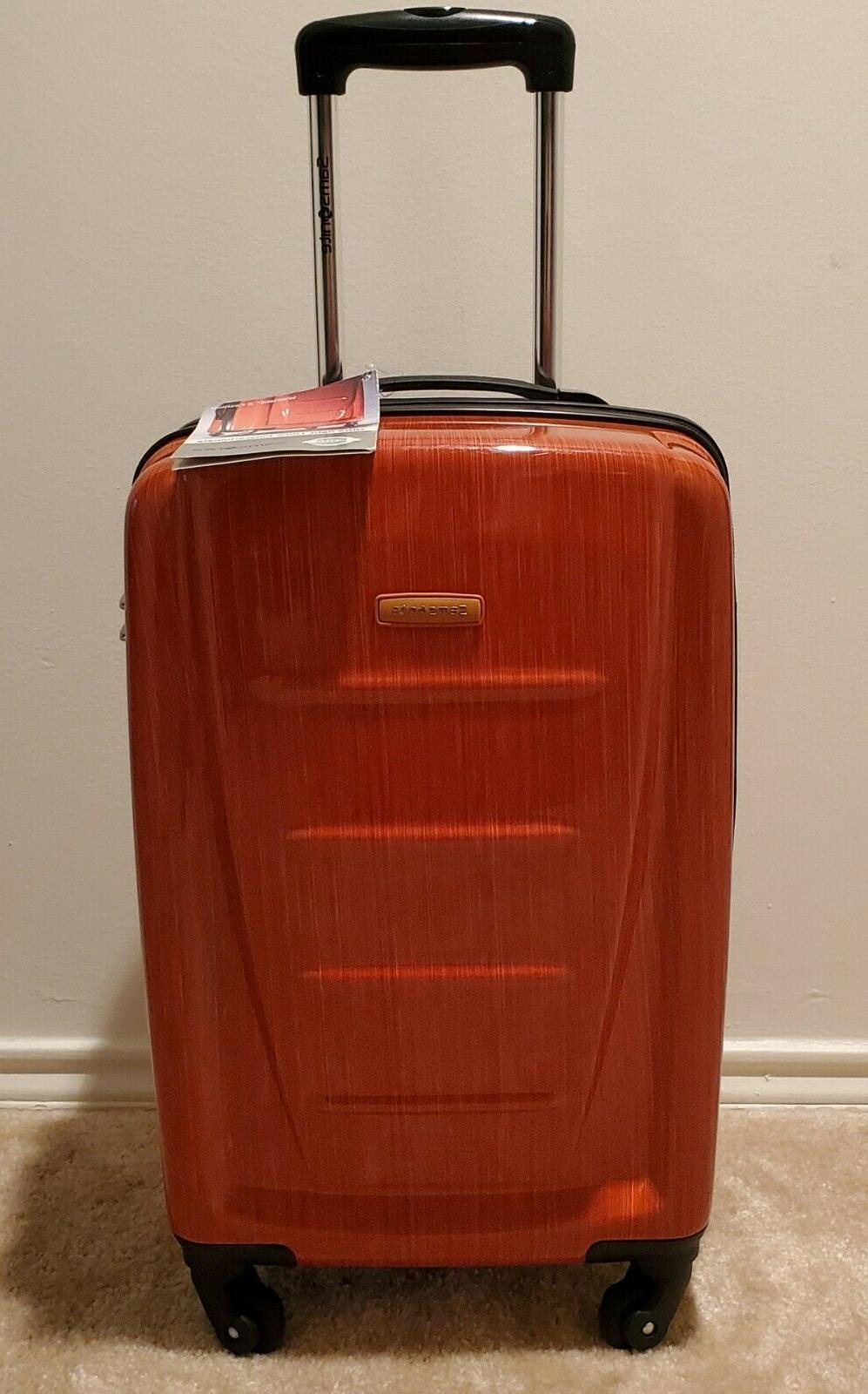 Samsonite Winfield Expandable Luggage with Spinner, Medium 24-Inch