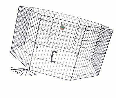 wire play pen 8 panels