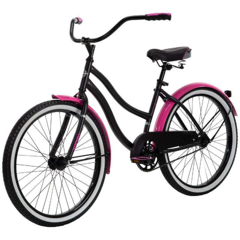Women Bike Pink and Black Girls Cruiser Women