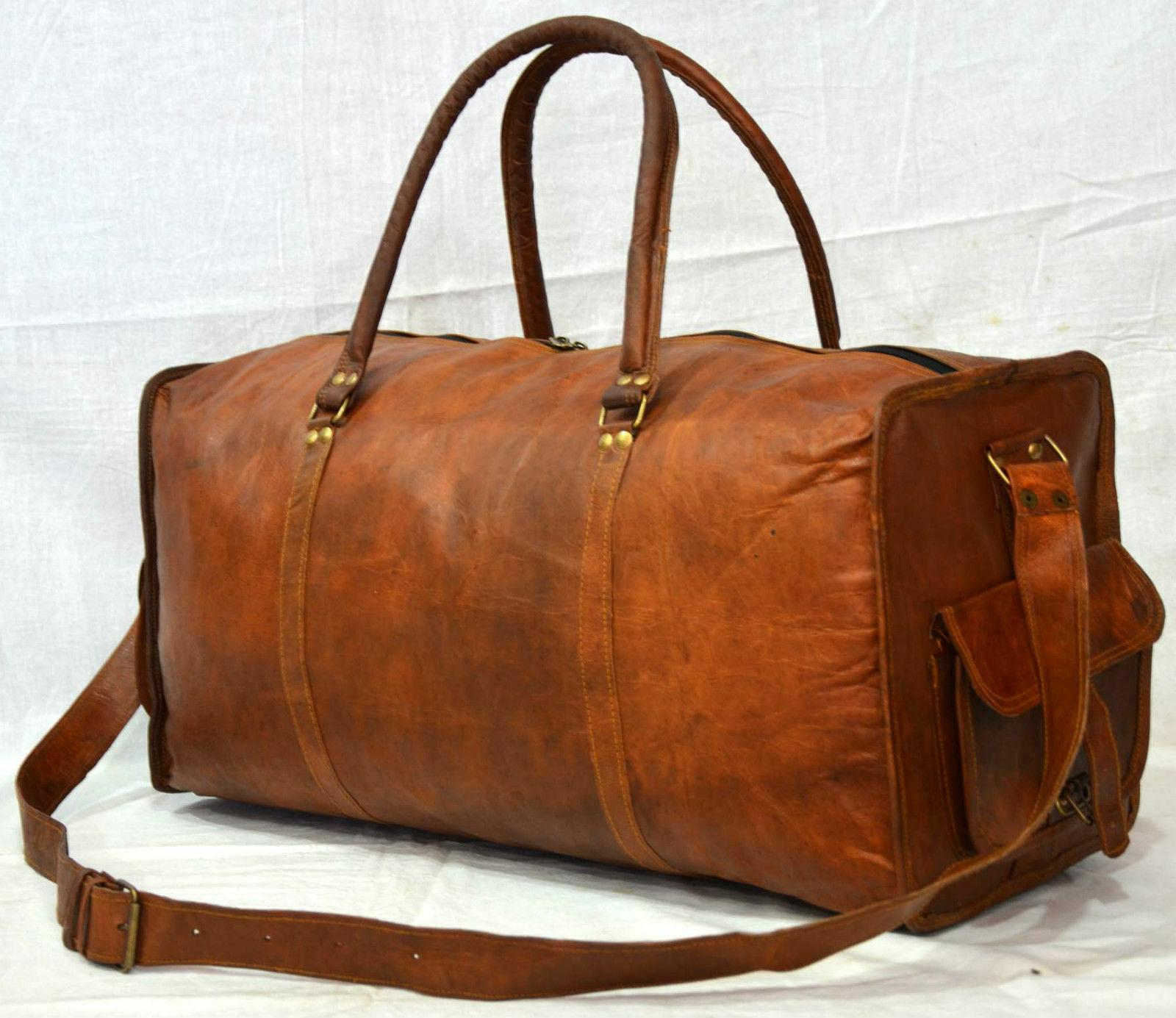 women s sports overnight leather gym duffle