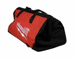 Milwaukee Large 24 Inch Heavy Duty Canvas Tool Bag With 6 Po