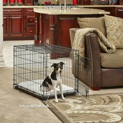MidWest Homes for Pets Dog Crate | iCrate Single Door &Doubl