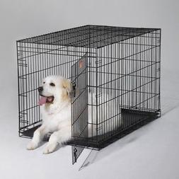 MidWest iCrate Folding Single Door Dog Crate