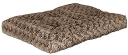 midwest quiet time pet bed deluxe mocha