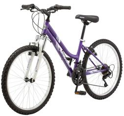 Mountain Bike Sports for Girls 24 inch Wheels Trail Cycling