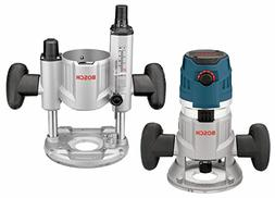 Bosch 2.3 HP Combination Plunge & Fixed-Base Variable Speed