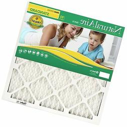NaturalAire Standard Air Filter, MERV 8, 20 x 30, 1-inch, 12