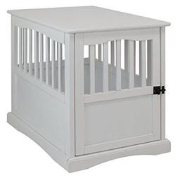 NEW Casual Home 600-41 Pet Crate, White, 24 Inch FREE2DAYSHI