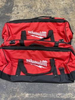 "New X2 Milwaukee 24 Inch Large Heavy Duty Tool Bag 24"" x 12"""