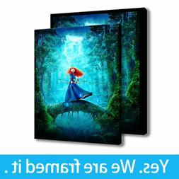 Oil Painting Art Disney Posters HD Print on Canvas Home Deco