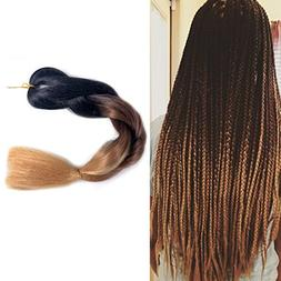 MSHAIR Ombre Jumbo Braiding Hair Extension Synthetic Kanekal