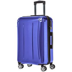 oxford luggage expandable suitcase with tsa lock