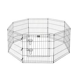 Pet Trex 2205 24 x 24 8 Panel Pen Exercise Playpen for Dogs