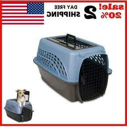 Petmate 24-Inch Two-Door Top-Load Pet Kennel -Home,Travel FR