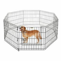"Pet Trex 24"" Playpen for Dogs Eight 24"" Wide  x 24"" High Pan"